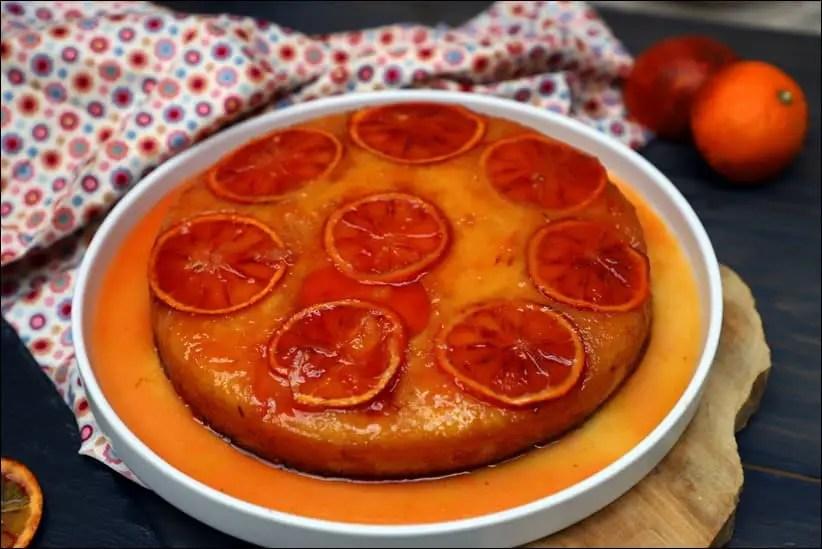 gateau yaourt orange