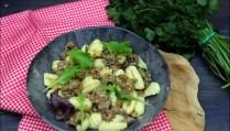 gnocchi aux saucisses et cèpes