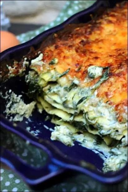 lasagnes végétariennes hiver
