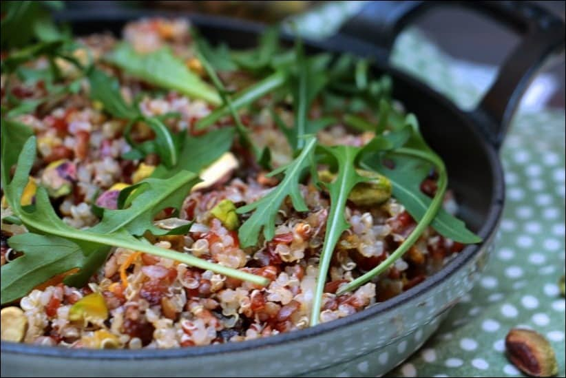 salade riz quinoa