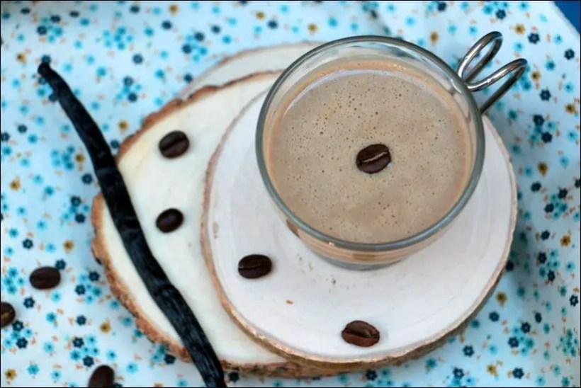 crème anglaise café vanille