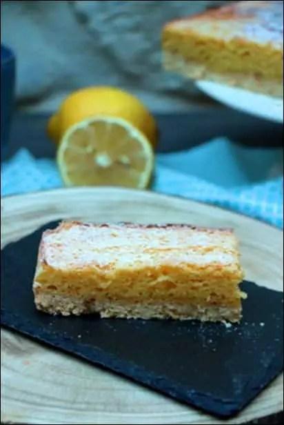 tarte sablée citron