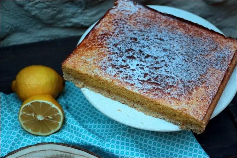 gateau citron base sablée