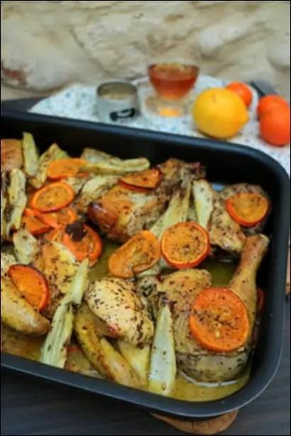 poulet clementine ottolenghi