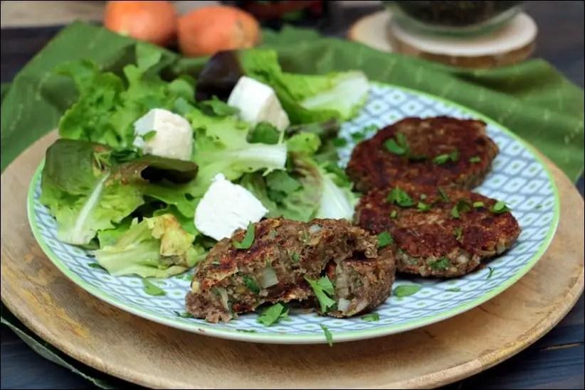 steak lentilles vertes