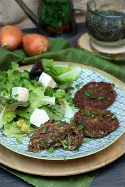steak lentilles maison