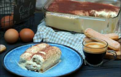 tiramisu traditionnel italien