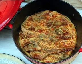 agneau spaghetti de Jean-François Piège