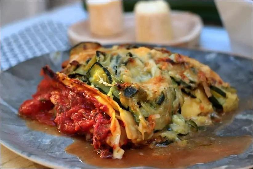 lasagne courgette chevre tomate