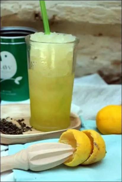 granité citron thé vert