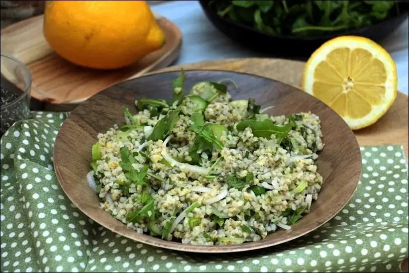 salade boulgour vegan