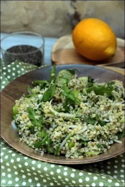 salade boulgour menthe