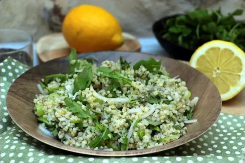 salade boulgour graines de chia