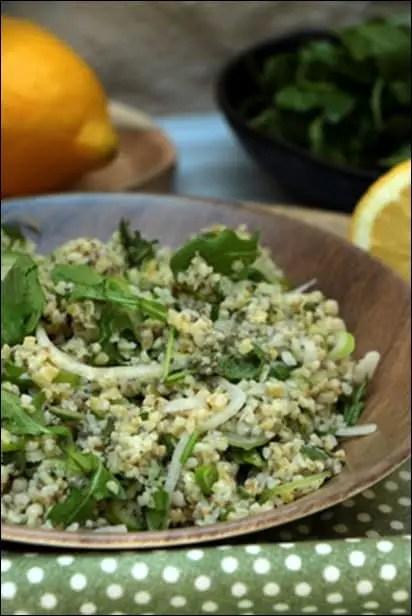 salade boulgour legere