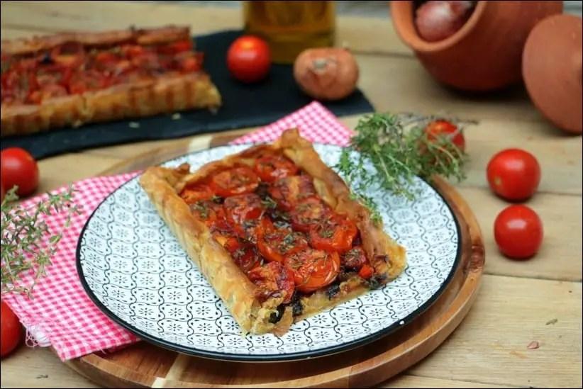 tarte tomate cerise thym