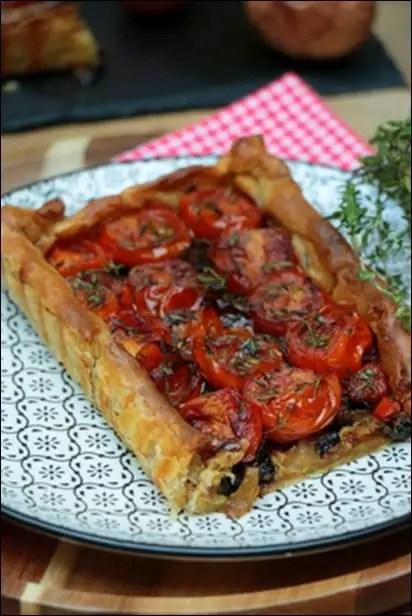 tarte tomate cerise