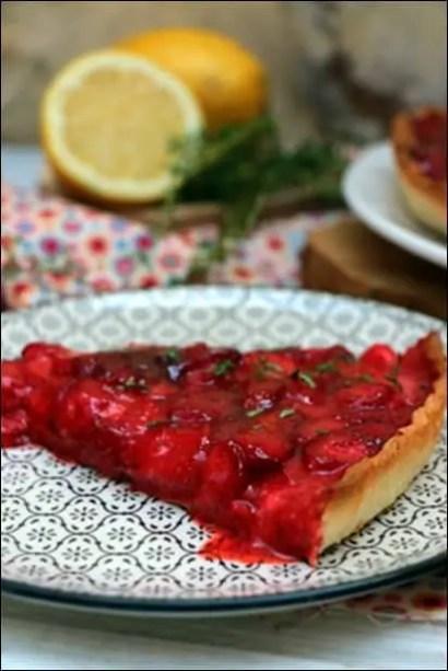 tarte fraises simple