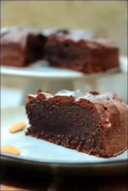 fondant chocolat sans farine