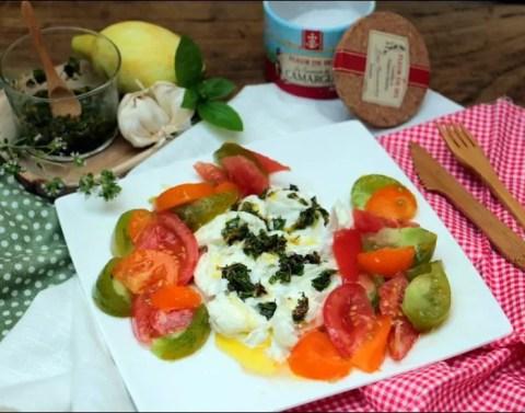 salade tomate et mozzarella de yotam ottolenghi