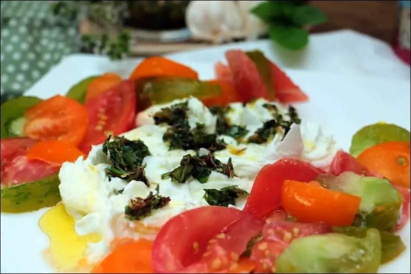salade caprese revisitée
