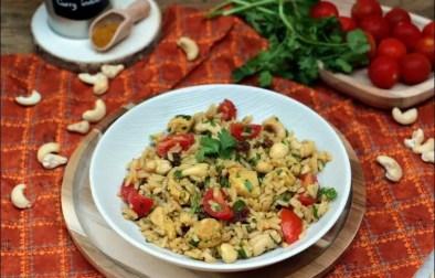salade de poulet à l'indienne