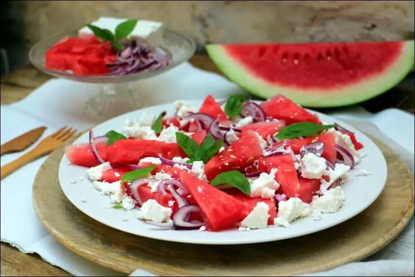 salade pastèque et feta de Yotam Ottolenghi