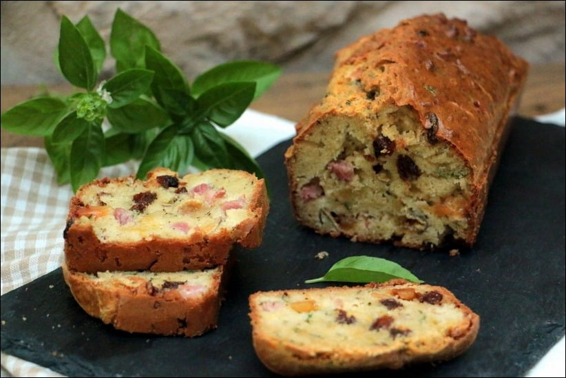 cake jambon fromage ultra moelleux