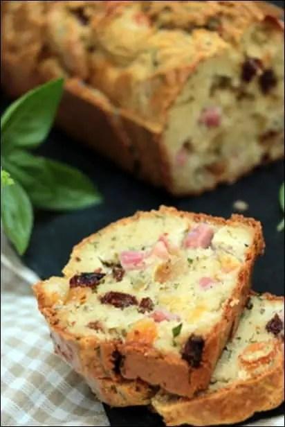 cake jambon chevre