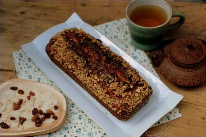 cake petit déjeuner healthy