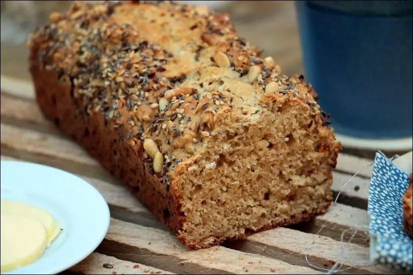 soda bread au lait ribot