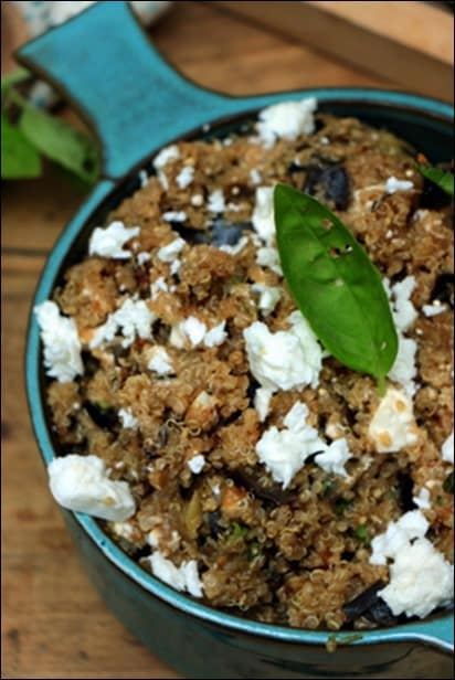 salade quinoa vegetarien
