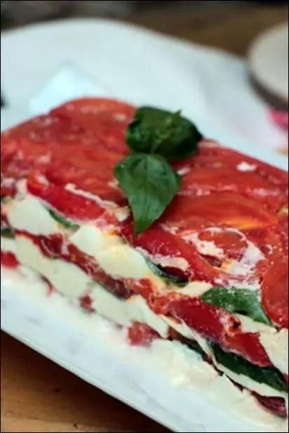 terrine tomate basilic