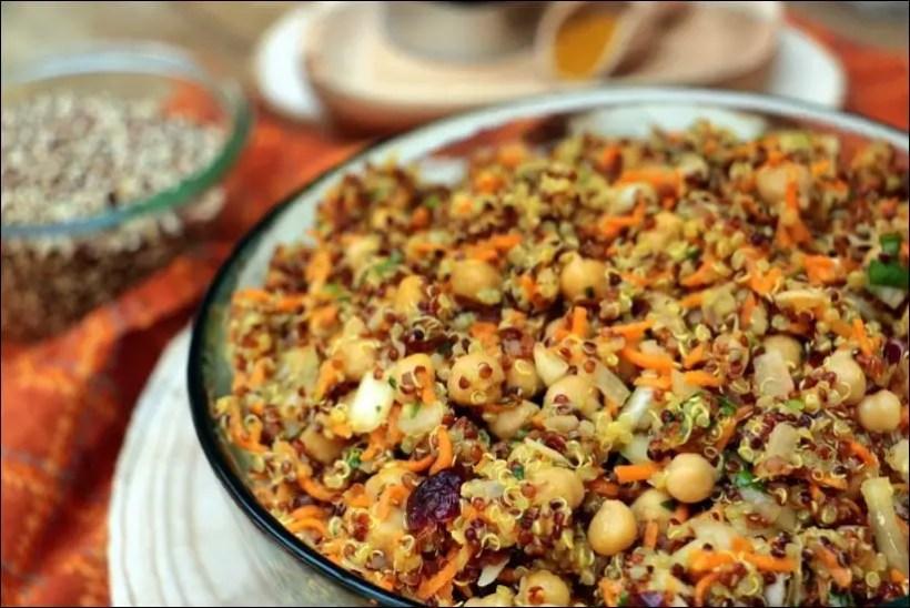 salade quinoa carotte