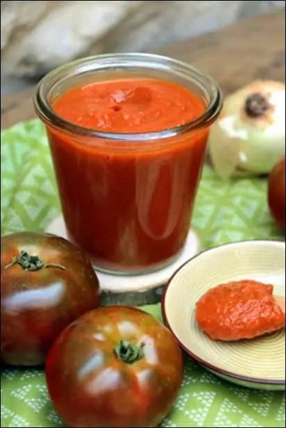 sauce tomate épaisse