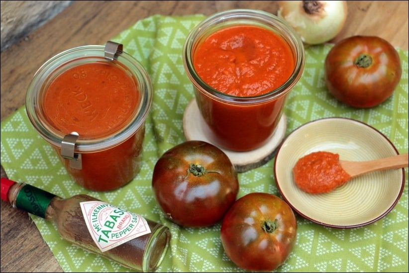 sauce tomate healthy