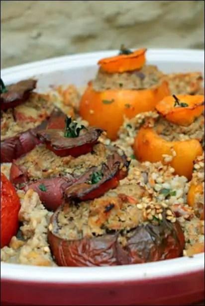 tomates farcies au veau