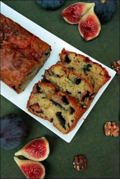 cake figues roquefort noix