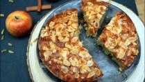 gâteau aux pommes et épices
