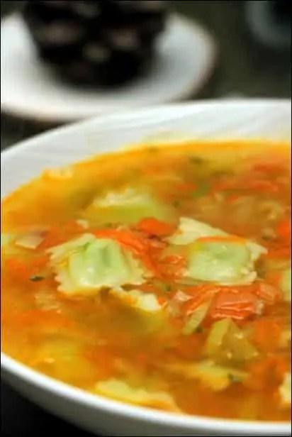 soupe de ravioles du dauphiné