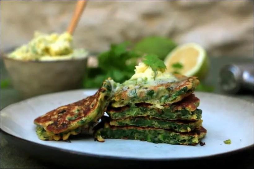 pancake citron vert