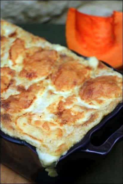 lasagne courge fromage de chevre