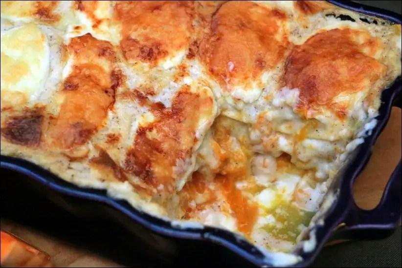 lasagnes végétariennes courge