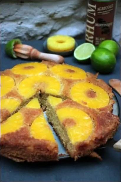 gateau ananas facile