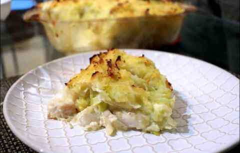 parmentier de poisson irlandais irish fish pie