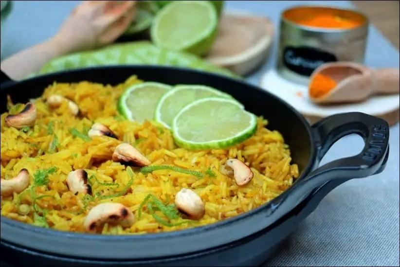 riz basmati citron coriandre