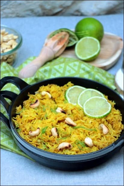 riz au citron simple