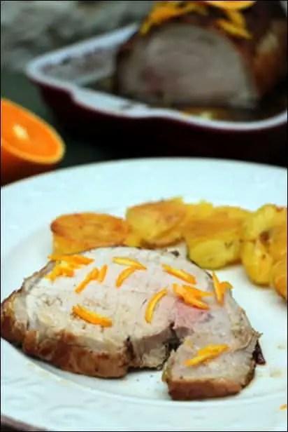 roti porc moelleux