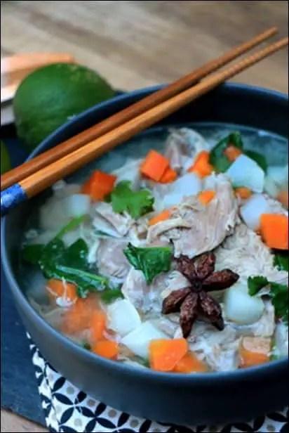 soupe vietnamienne pho porc