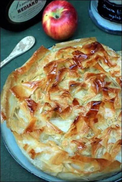 tourtière pommes armagnac