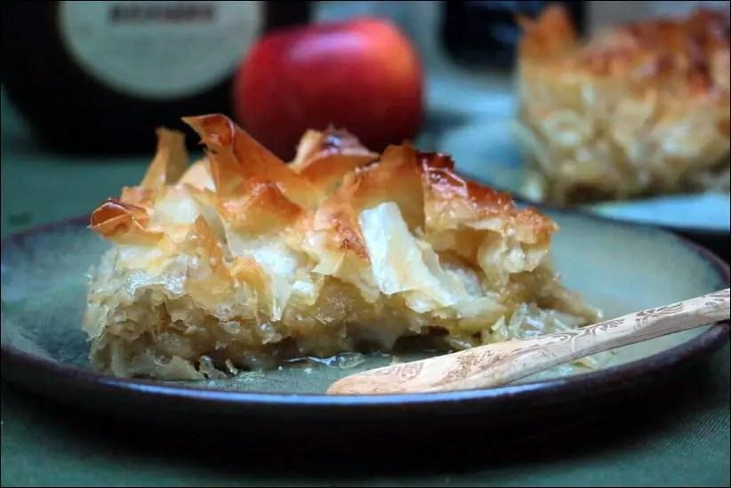 tourtiere aux pommes pate filo